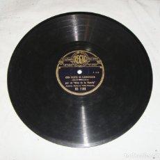 Discos de pizarra: EL NIÑO DE LA HUERTA. CON VERTE SE ILUSIONABA - QUE YO A MI MADRE. GUITARRA NIÑO RICARDO.. Lote 195375311