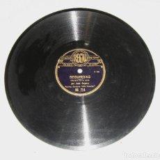 Discos de pizarra: DISCO DE PIZARRA. JOSE CEPERO Y NIÑO RICARDO. SEGUIRIYAS / BULERIAS JEREZANAS. Lote 195375866