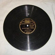 Discos de pizarra: NIÑA DE LA PUEBLA Y JOSE CEPERO. LOS DE LA PUEBLA Y PARADAS / VIVE SIN PENA NI GLORIA. Lote 195378025