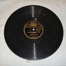 Discos de pizarra: NIÑA DE LA PUEBLA. NO DIGAS MARCHITA FLOR / ESE TRAJE NEGRO.. Lote 195378672
