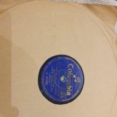 Discos de pizarra: 78 RPM REGIONAL ASTURIANO LOTE TRES DISCOS. Lote 195385323