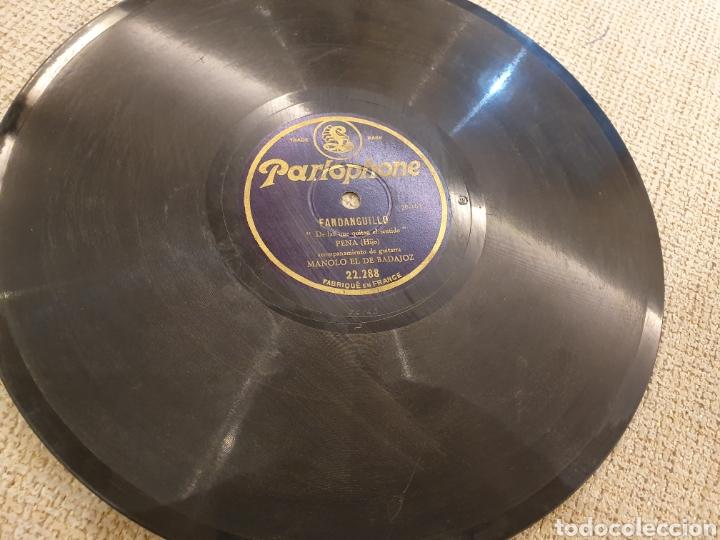 Discos de pizarra: 78 RPM FLAMENCO PENA HIJO - Foto 2 - 195385603