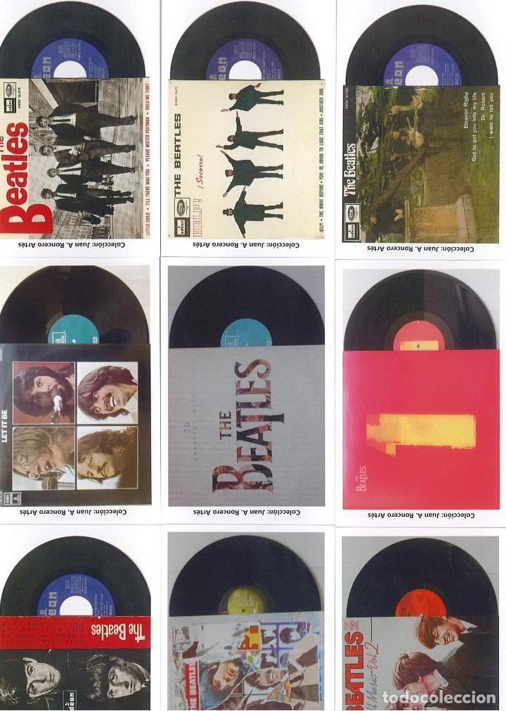 Discos de pizarra: 107 CALENDARIOS DE BOLSILLO DE THE BEATLES -NOVEDAD AÑO 2020 - Foto 2 - 210650232