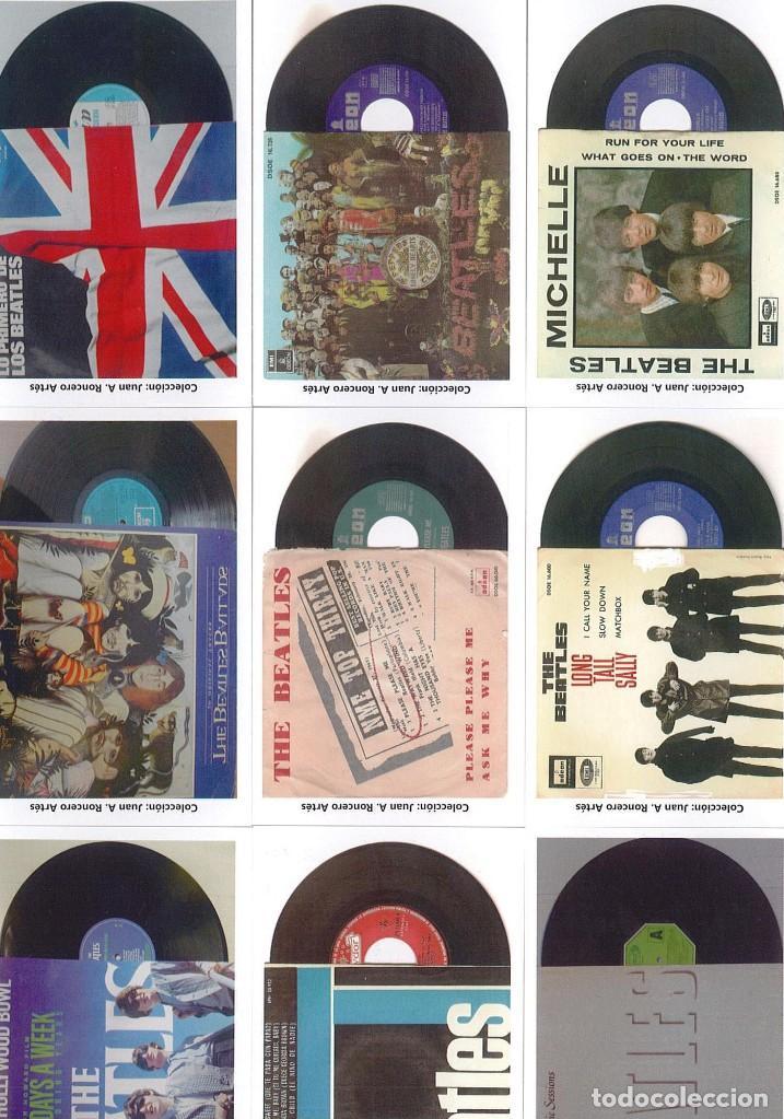 Discos de pizarra: 107 CALENDARIOS DE BOLSILLO DE THE BEATLES -NOVEDAD AÑO 2020 - Foto 3 - 210650232