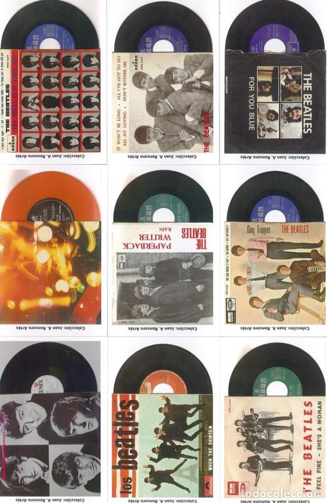 Discos de pizarra: 107 CALENDARIOS DE BOLSILLO DE THE BEATLES -NOVEDAD AÑO 2020 - Foto 4 - 210650232