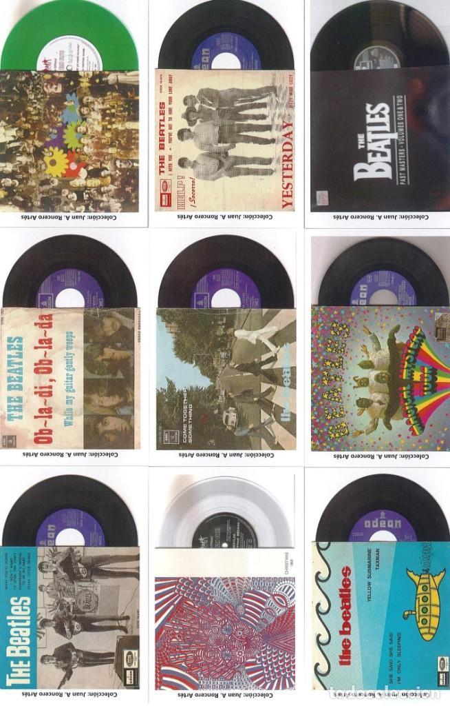 Discos de pizarra: 107 CALENDARIOS DE BOLSILLO DE THE BEATLES -NOVEDAD AÑO 2020 - Foto 7 - 210650232