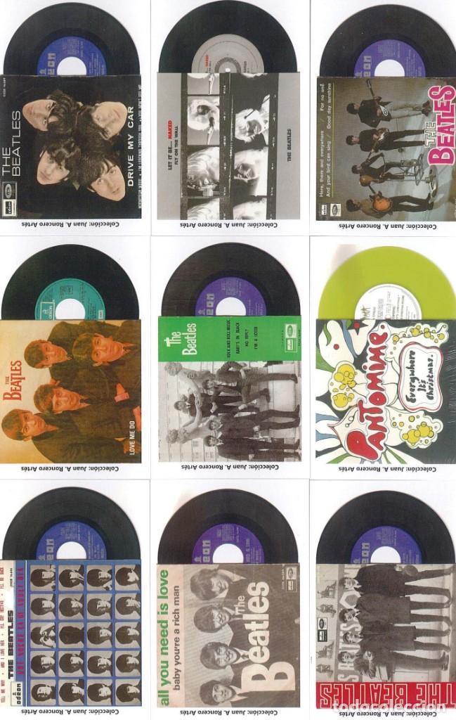 Discos de pizarra: 107 CALENDARIOS DE BOLSILLO DE THE BEATLES -NOVEDAD AÑO 2020 - Foto 8 - 210650232