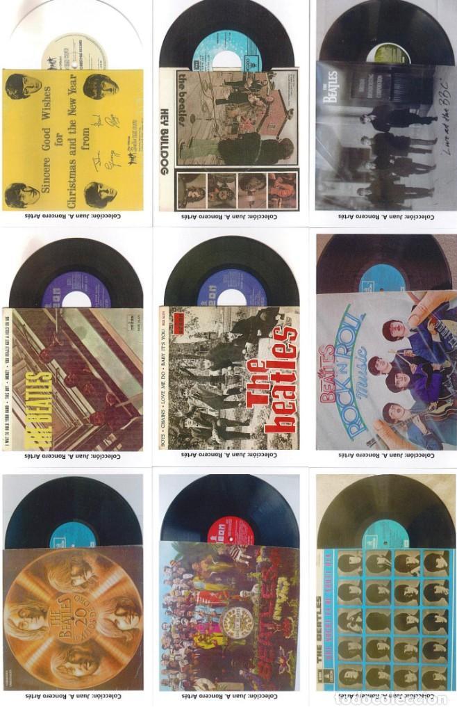 Discos de pizarra: 107 CALENDARIOS DE BOLSILLO DE THE BEATLES -NOVEDAD AÑO 2020 - Foto 9 - 210650232