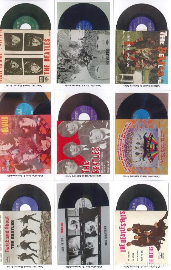 Discos de pizarra: 107 CALENDARIOS DE BOLSILLO DE THE BEATLES -NOVEDAD AÑO 2020 - Foto 10 - 210650232