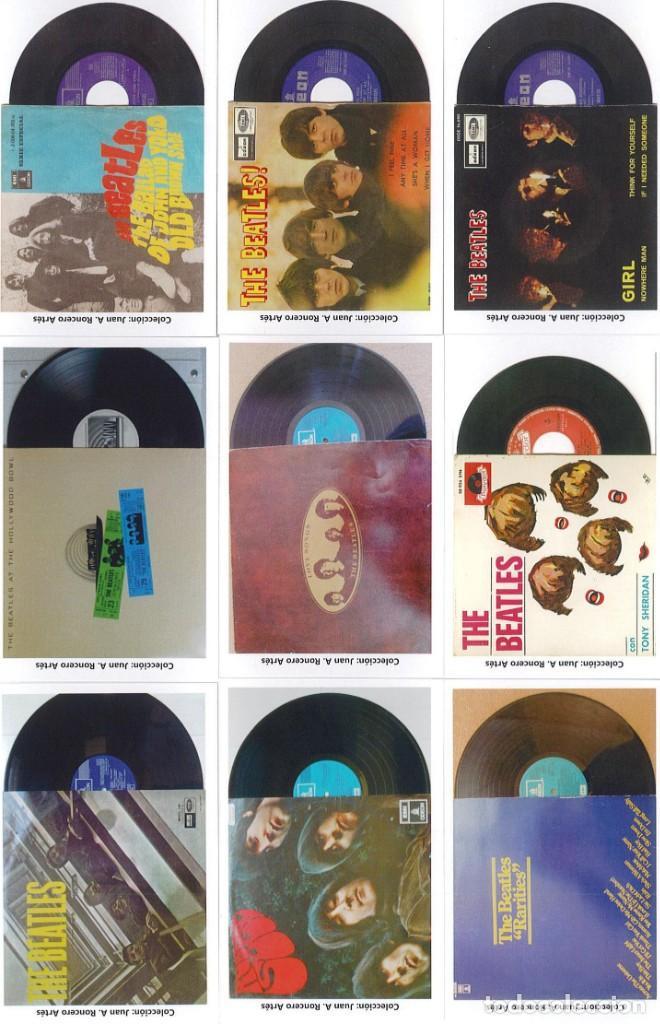 Discos de pizarra: 107 CALENDARIOS DE BOLSILLO DE THE BEATLES -NOVEDAD AÑO 2020 - Foto 11 - 210650232