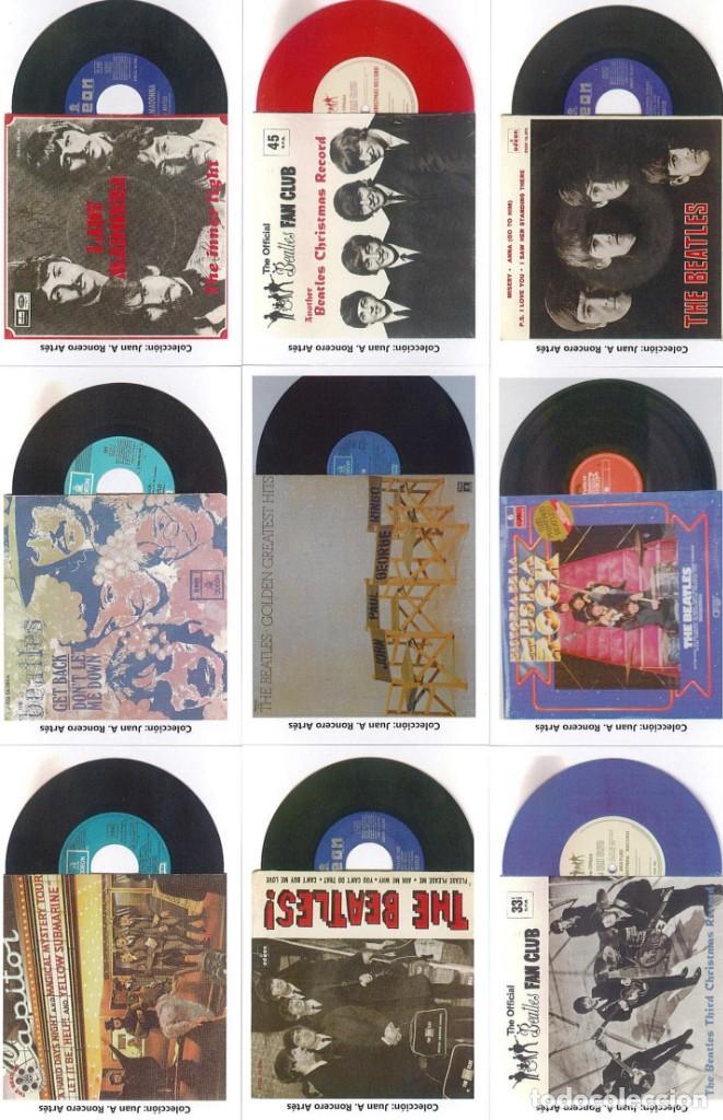 Discos de pizarra: 107 CALENDARIOS DE BOLSILLO DE THE BEATLES -NOVEDAD AÑO 2020 - Foto 12 - 210650232
