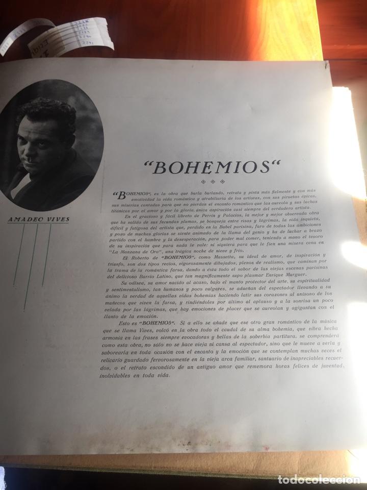 Discos de pizarra: Bohemios álbum completo - Foto 2 - 195974212