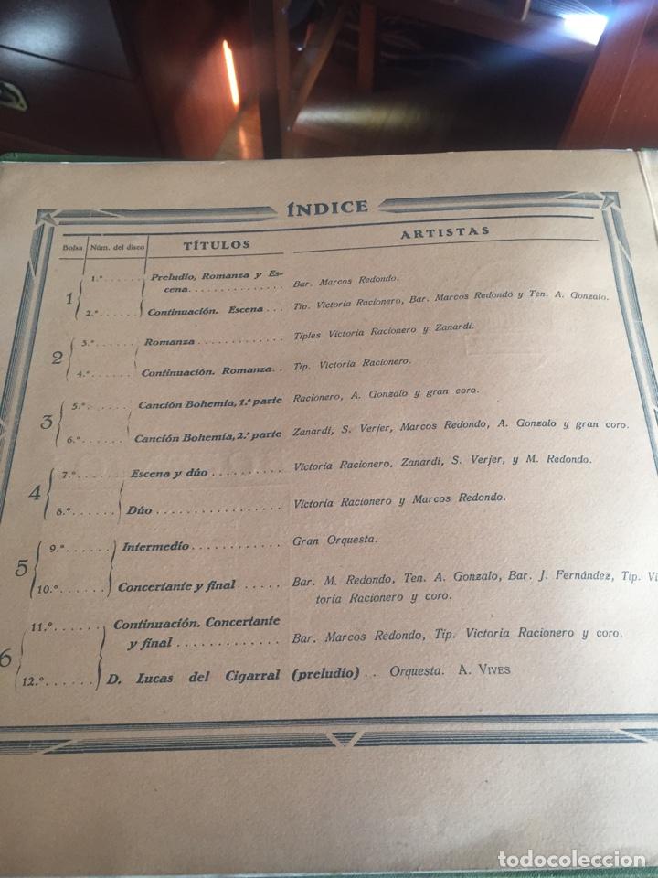 Discos de pizarra: Bohemios álbum completo - Foto 3 - 195974212