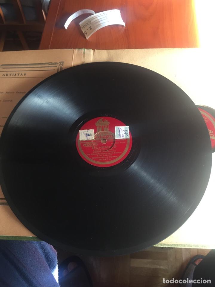 Discos de pizarra: Bohemios álbum completo - Foto 4 - 195974212