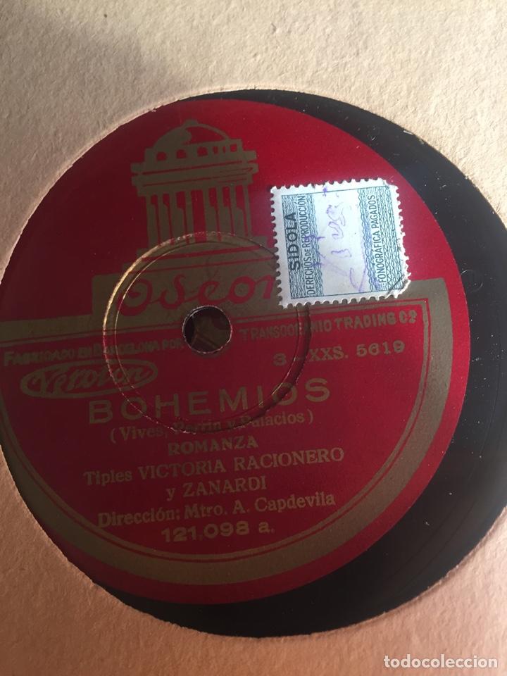 Discos de pizarra: Bohemios álbum completo - Foto 17 - 195974212