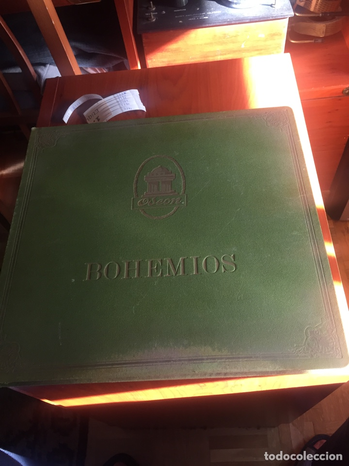 BOHEMIOS ÁLBUM COMPLETO (Música - Discos - Pizarra - Clásica, Ópera, Zarzuela y Marchas)