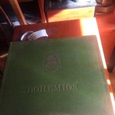 Discos de pizarra: BOHEMIOS ÁLBUM COMPLETO. Lote 195974212
