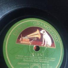 Discos de pizarra: MIAU. Lote 195976633