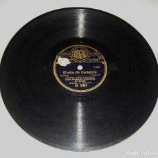 Discos de pizarra: DISCO DE PIZARRA. EL SITIO DE ZARAGOZA. . Lote 196153711