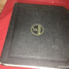 Dischi in gommalacca: ORIGINAL ÁLBUM COLUMBIA PARA DISCOS DE GRAMÓFONO DE 25 CM. Lote 196608232