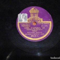Discos de pizarra: DISCO PIZARRA, MUCHACHITA BUENA Y TANGO CHE PAPISA OÍ AZUCENA. Lote 197267907