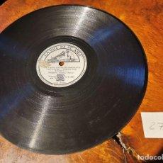 Discos de pizarra: DISCO PIZARRA, LA VOZ DE SU AMO, ORQUESTA TOMMY D. LOS CAPULLOS NO FLORECERAN Y NADIE ME QUIERE. Lote 197337912