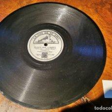 Discos de pizarra: DISCO PIZARRA, LA VOZ DE SU AMO, ORQUESTA ARTIE SHAW, ELEVA UNA COMETA Y UN HOMBRE Y UN SUEÑO, N26. Lote 197338753