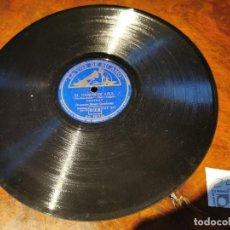 Discos de pizarra: DISCO PIZARRA, LA VOZ DE SU AMO, ORQUESTA BOB CHESTER, ESTRLLAS SOBRE JARDIN, EL GABINETE AZUL, N25. Lote 197339468