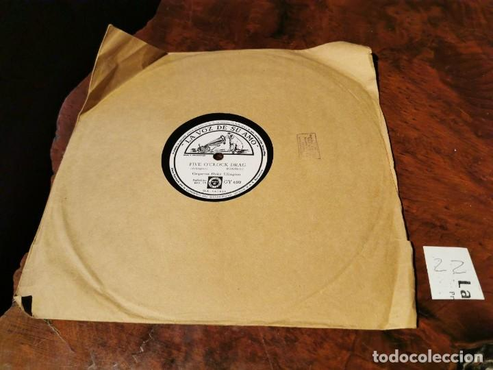Discos de pizarra: DISCO PIZARRA, LA VOZ DE SU AMO, ORQUESTA, DUKE ELLINGTON, FIVE O´CLOCK D. Y CLEMENTINA, N22 - Foto 5 - 197341841