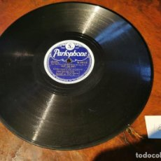 Discos de pizarra: DISCO PIZARRA, PARLOPHONE, HARRY PARRY, OKAY FOR BABY Y LONESOME ROAD, N18. Lote 197344378
