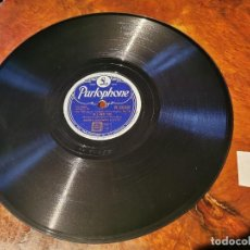 Discos de pizarra: .DISCO PIZARRA, PARLOPHONE, BENNY GOODMAN SEXTET, IF I HAD YOU Y LIMEHOUSE BLUES, N16. Lote 197347613