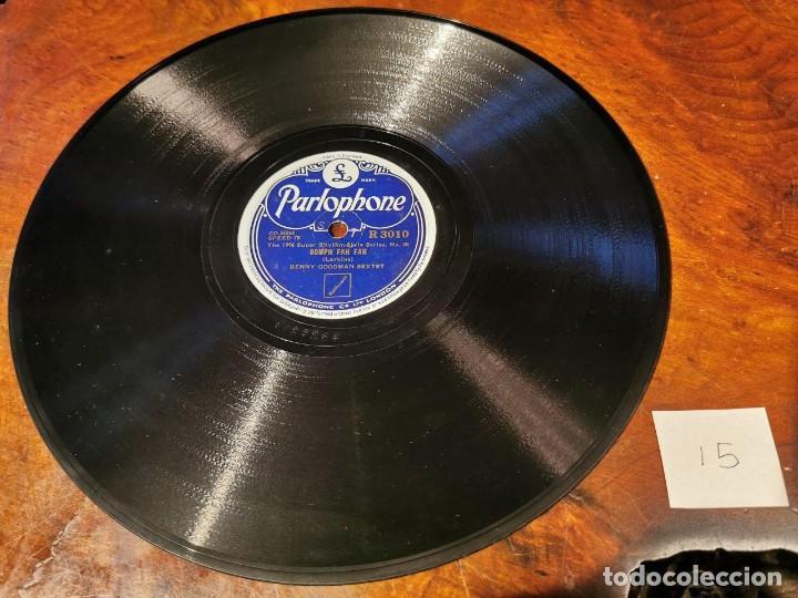 .DISCO PIZARRA, PARLOPHONE, BENNY GOODMAN, CLARINADE Y OOMPH FAH FAH, N15 (Música - Discos - Pizarra - Solistas Melódicos y Bailables)