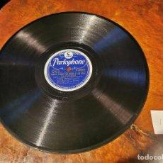 Discos de pizarra: .DISCO PIZARRA, PARLOPHONE HARRY JAMES, NOBODY KNOWS Y OL´MAN RIVER, N13. Lote 197350207