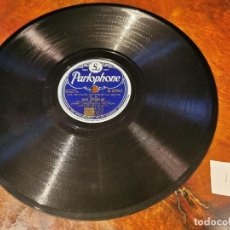 Discos de pizarra: .DISCO PIZARRA, PARLOPHONE, JIMMY LUNCEFORD, BLUE AFTERGLOW Y MIXUP, N12. Lote 197350633