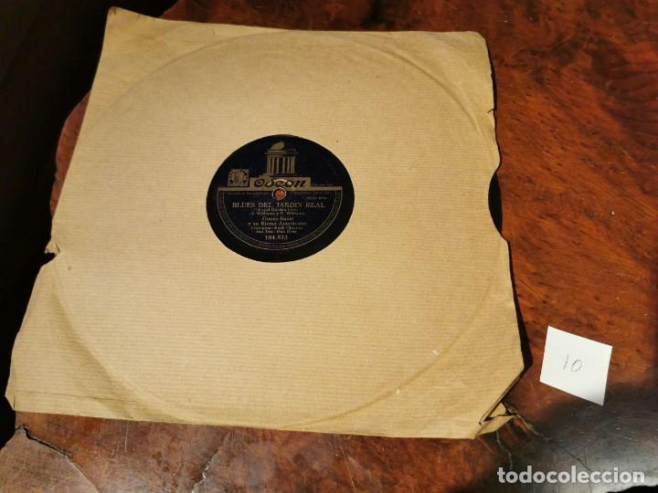 Discos de pizarra: ,DISCO PIZARRA, ODEON, BLUES DEL JARDIN REAL Y THE JITTERS, COUNT BASIE ORQUESTA. N10 - Foto 5 - 197351627