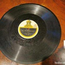 Discos de pizarra: ,DISCO PIZARRA, ODEON, EL MANCHEGO VALS-JOTA Y INES AMERICANA. N9. Lote 197352501