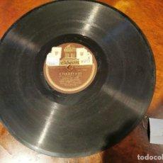 Discos de pizarra: ,DISCO PIZARRA, ODEON, CHARIVARI SARDANA Y QUADRO DEL LICEO, HIMNO DE BARCELONA, EMILI VENDRELL , N7. Lote 197353387