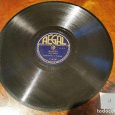 Discos de pizarra: ,DISCO PIZARRA, REGAL, DAMA PEREZOSA Y BAMBO - COUNT BASIE Y SU ORQUESTA. N4. Lote 197354523