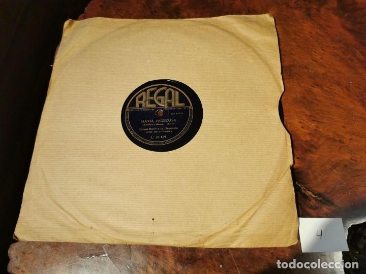 Discos de pizarra: ,DISCO PIZARRA, REGAL, DAMA PEREZOSA Y BAMBO - COUNT BASIE Y SU ORQUESTA. N4 - Foto 5 - 197354523