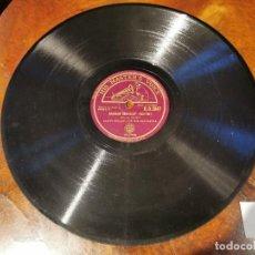 Discos de pizarra: DISCO PIZARRA, LA VOZ DE SU AMO, GLENN MILLER - IT MUST BE JELLY Y RAINBOW RHAPSODY - FOX TROT, N3. Lote 197354990