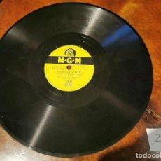Discos de pizarra: DISCO PIZARRA, MGM POZO SIN FONDO, SY OLIVER Y ORQUESTA Y FUEGO LENTO N2. Lote 197355388