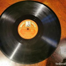 Discos de pizarra: DISCO PIZARRA, DECCA, THE TRUMPET PLAYER´S LAMENT Y BARBECUE, LOUIS ARMSTRONG. N1. Lote 197355908