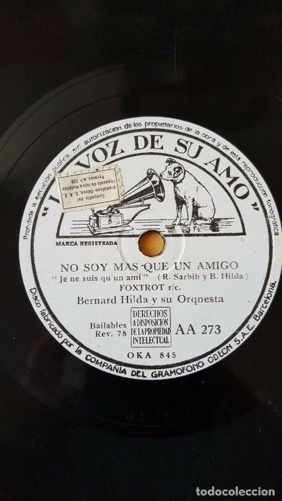 DISCO 78 RPM - VSA - BERNARD HILDA - ORQUESTA - COW COWBOOGIE - BUGUI - FOXTROT - PIZARRA (Música - Discos - Pizarra - Jazz, Blues, R&B, Soul y Gospel)