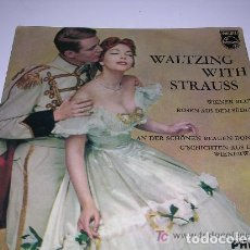 Discos de pizarra: WALTZING WITH STRAUSS. Lote 197955056