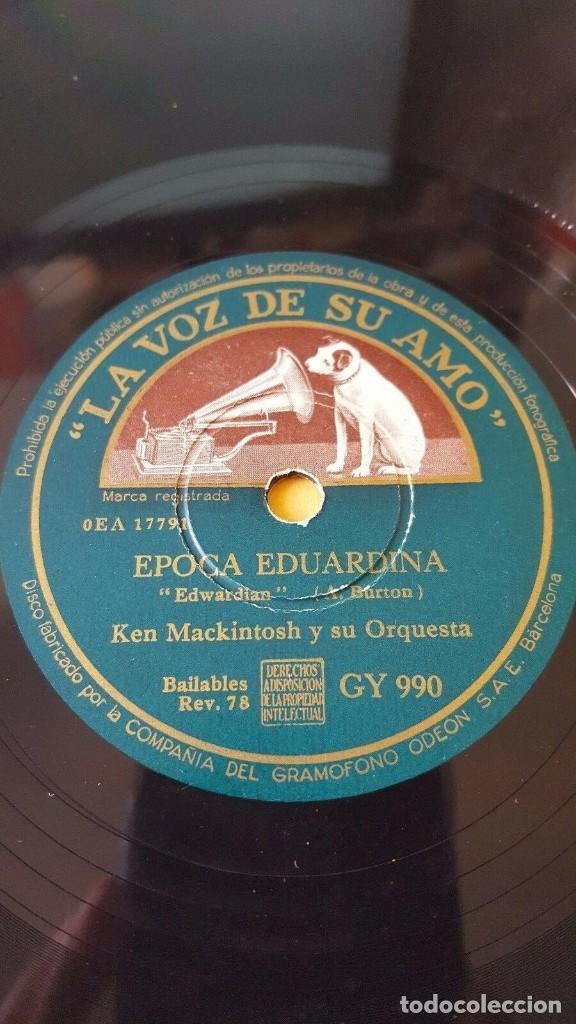 DISCO 78 RPM - VSA - KEN MACKINTOSH - ORQUESTA - EPOCA EDUARDINA - LEJOS - SAXOFON - PIZARRA (Música - Discos - Pizarra - Jazz, Blues, R&B, Soul y Gospel)
