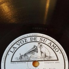 Discos de pizarra: DISCO 78 RPM - VSA - CHARLIE BARNET - ORQUESTA - LA BRISA Y YO - LA FABULA DE LA ROSA - PIZARRA. Lote 198464538