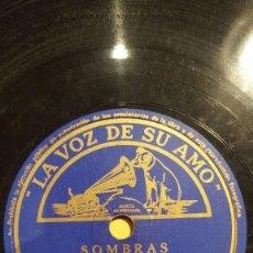Dischi in gommalacca: DISCO 78 RPM - VSA - ORQUESTA ARTIE SHAW - SOMBRAS - NO SABIA LA HORA - FOXTROT - PIZARRA. Lote 198467412