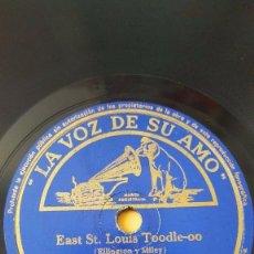 Discos de pizarra: DISCO 78 RPM - VSA - ORQUESTA DUKE ELLINGTON - EAST ST. LOUIS TOODLE-OO - FOXTROT - PIZARRA. Lote 198468506