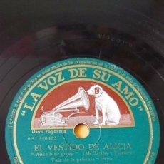 Discos de pizarra: DISCO 78 RPM - VSA - ORQUESTA GLENN MILLER - EL VESTIDO DE ALICIA - MARAVILLOSA - VALS - PIZARRA. Lote 198553661