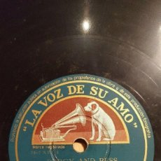 Discos de pizarra: DISCO 78 RPM - VSA - ORQUESTA MELACHRINO - PORGY AND BESS - GERSHWIN - JAZZ - RARO - PIZARRA. Lote 198559275